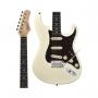Guitarra Tagima Classic T-635 OWH DF/TT Branca Escala Escura Escudo Shell