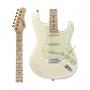 Guitarra Tagima Classic T-635 OWH LF/MG Branca Escala Clara Escudo Claro