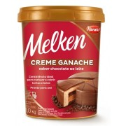 CREME TIPO GANACHE AO LEITE 1KG - MELKEN