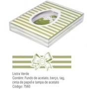DECORA - CX PASC 500/350GR LISTRA VERDE UN