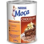 MOÇA - RECHEIO E COBERTURA DE CHOCOLATE 2,6 KG