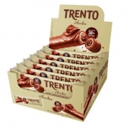 PECCIN - WAFER CHOCOLATE 512G TRENTO CHOCO AVELA
