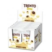 PECCIN - WAFER TRENTO BITES 12X40G BRANCO DARK