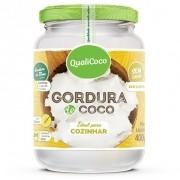 QUALICOCO - GORDURA DE COCO 400G