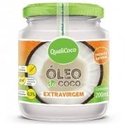 QUALICOCO - OLEO DE COCO EXTRA VIRGEM 200ML