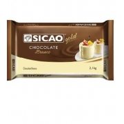 SICAO - CHOCOLATE GOLD BARRA 2,1KG BRANCO