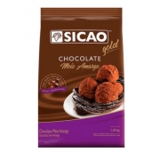 SICAO - CHOCOLATE GOLD GOTA 1,01KG MEIO AMARGO