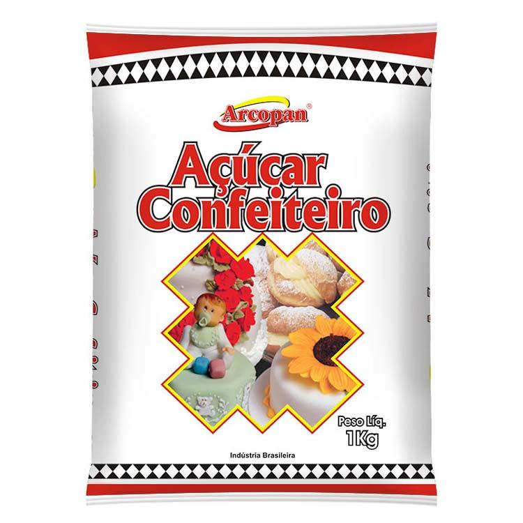ARCOLOR - ACUCAR DE CONFEITEIRO 1KG