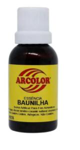 ARCOLOR - ESSENCIA 30ML BAUNILHA