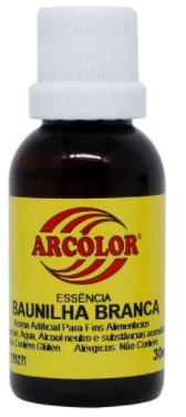 ARCOLOR - ESSENCIA 30ML BAUNILHA BRANCA