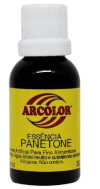 ARCOLOR - ESSENCIA 30ML PANETONE
