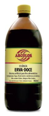 ARCOLOR - ESSENCIA 960ML ERVA DOCE