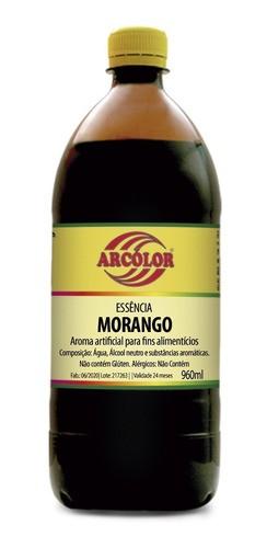 ARCOLOR - ESSENCIA 960ML MORANGO