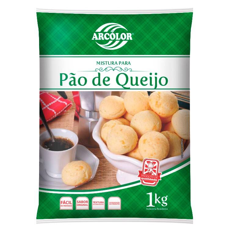 ARCOLOR - MISTURA P/PAO DE QUEIJO 1KG