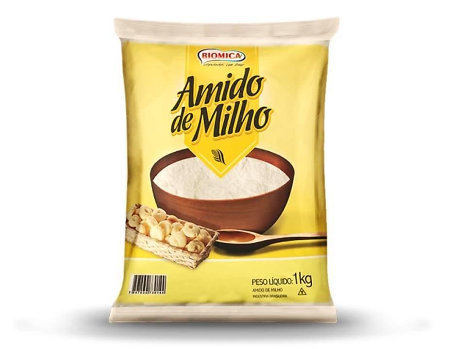 BIOMICA - AMIDO DE MILHO 500G