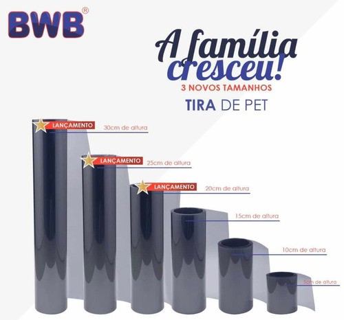 BWB - TIRA DE PET 25CM X 2M