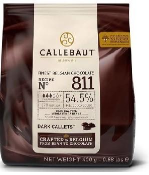 CALLEBAUT - CHOCOLATE 400G GOTAS M AMARGO