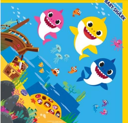 CROMUS - EXPRESS BABY SHARK 35X35 UN