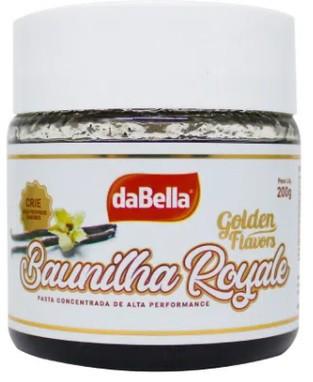 DABELLA - PASTA SAB GOLDEN FLAVORS 200G BAUNILHA R