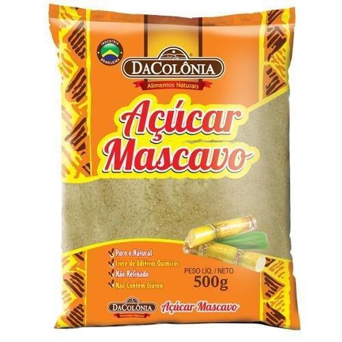 DACOLONIA - ACUCAR MASCAVO 500G