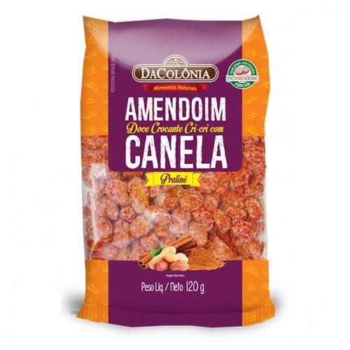 DACOLONIA - AMENDOIM DOCE CRI-CRI COM CANELA 120G