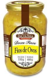 DACOLONIA - DOCE FIOS DE OVOS 550G
