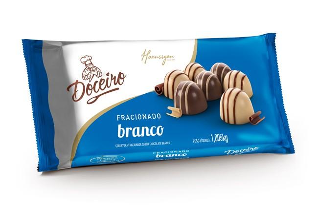 DOCEIRO - COB FRACIONADA BRANCA 1,005KG