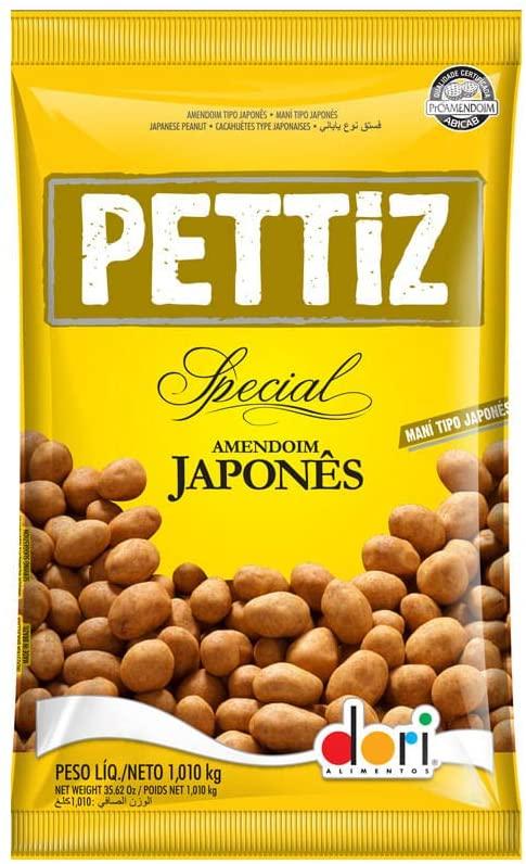 DORI - AMENDOIM 1KG PETTIZ JAPONES