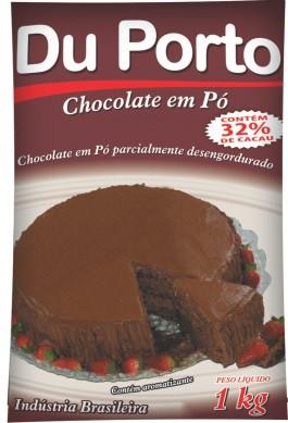 DUPORTO - CHOCOLATE EM PÓ 32% 1KG