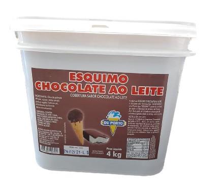 DUPORTO - COBERTURA ESQUIMO 4KG CHOCOLATE