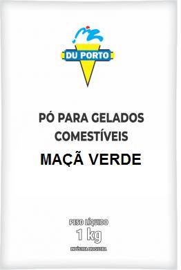 DUPORTO - DP 1KG SABOR MAÇÃ VERDE
