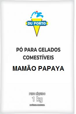 DUPORTO - DP 1KG SABOR MAMÃO PAPAYA