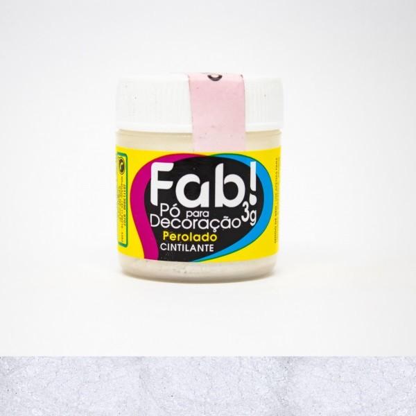FAB - PÓ DECORAÇÃO CINTILANTE 3G PEROLADO