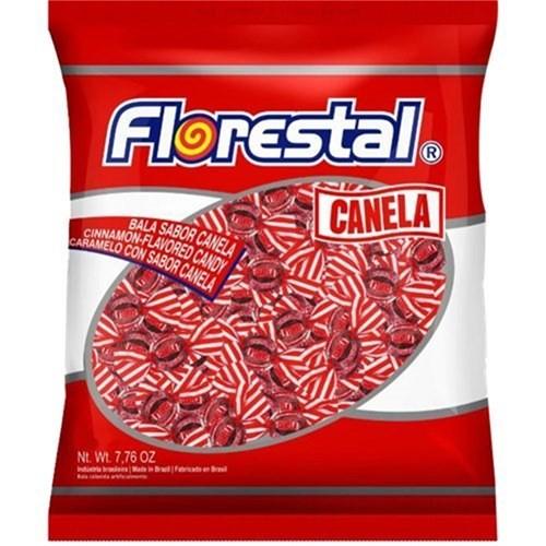 FLORESTAL - BALA 500G BOLINHA CANELA