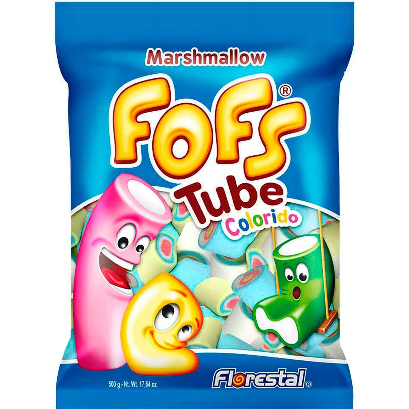 FLORESTAL - MARSHMALLOW FOFS 220G TUBE COLOR