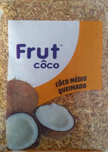 FRUTCOCO - COCO RALADO SECO 1KG QUEIMADO