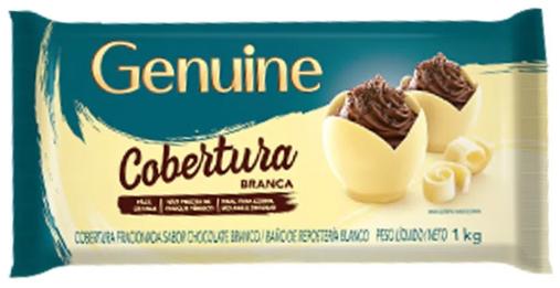 GENUINE - COBERTURA 1KG BRANCA