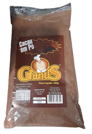 GRANUS - CACAU EM PÓ 400G