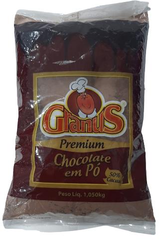 GRANUS - CHOCOLATE EM PÓ 50% 1,01KG