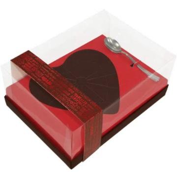 IDEIA - CAIXA  CLASSIC 500G CORAÇÃO RED LOVE  500G UN