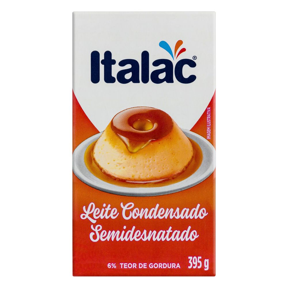 ITALAC - LEITE CONDENSADO 395G SEMIDESNATADO