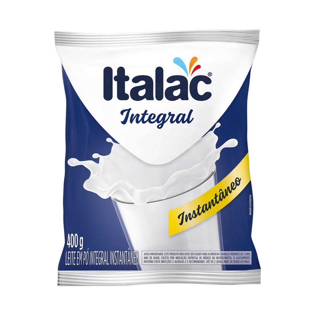 ITALAC - LEITE EM PO INTEGRAL 400G