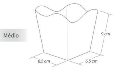 KAIXOTE - CACHEPO M 8UN PRATA