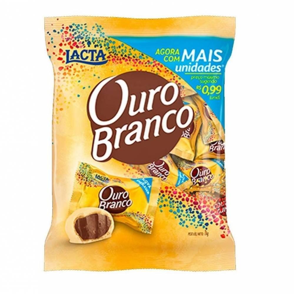 LACTA - BOMBOM OURO BRANCO 1KG