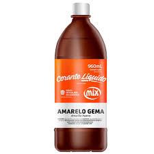 MIX - CORANTE 960ML AMARELO GEMA