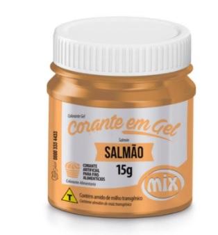MIX - CORANTE PARA  CHOCOLATE SALMÃO 12G