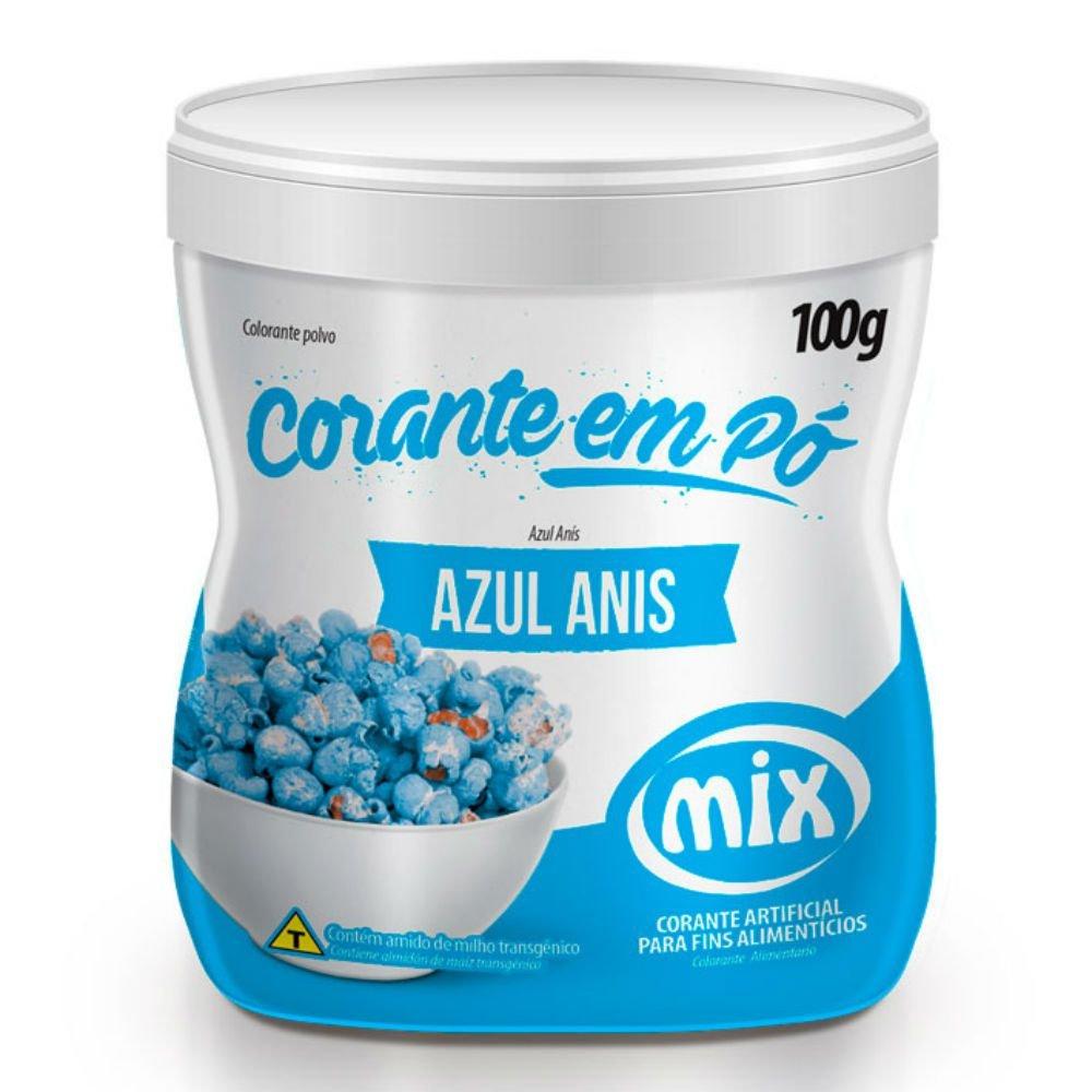 MIX - CORANTE PÓ 100G AZUL ANIS