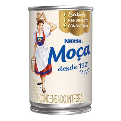 NESTLE - LEITE CONDENSADO MOÇA LATA 395G