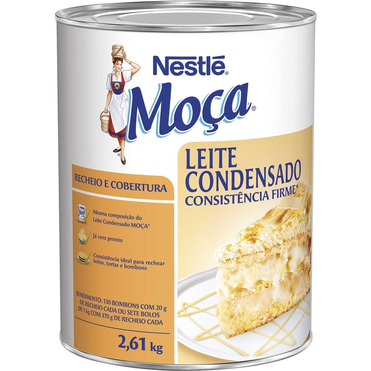 MOÇA - RECHEIO E COBERTURA LEITE CONDENSADO 2,6KG
