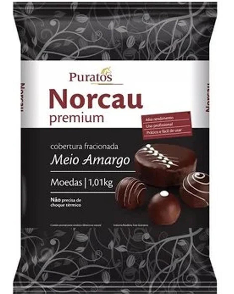 NORCAU - COB PREMIUM MOEDAS 1,01KG M. AMARGO